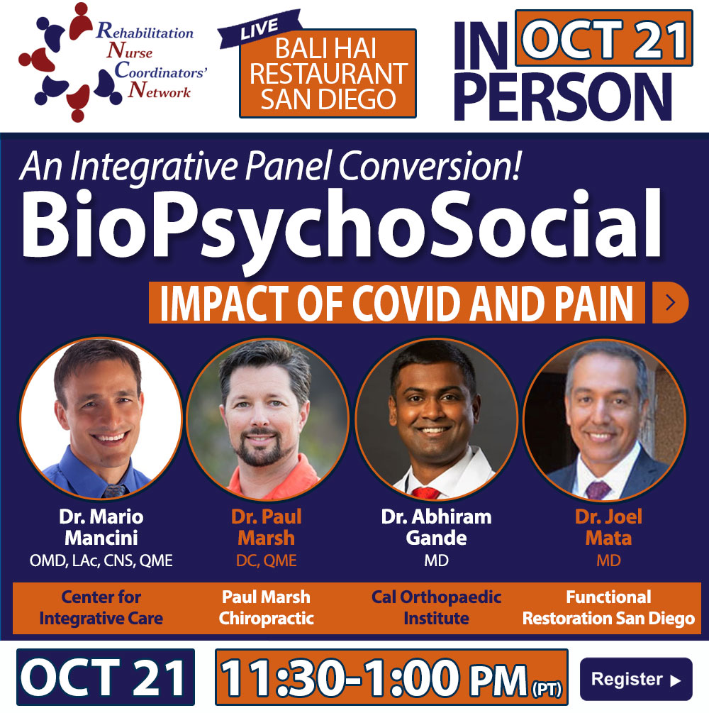 The BioPsychoSocial Impact of Covid on Pain